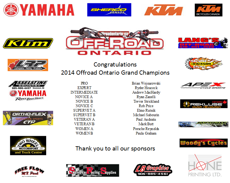 OO 2014 Grand Champions